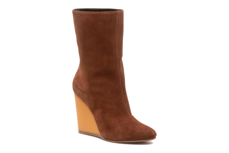 Bottines et boots Vicini Nina Marron vue détail/paire