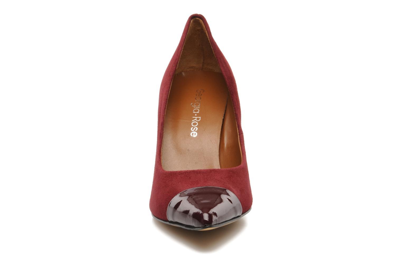 Escarpins Georgia Rose Lady Pink Bordeaux vue portées chaussures