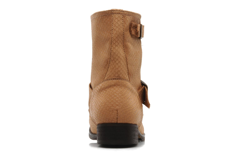Bottines et boots Georgia Rose Boteni Beige vue droite