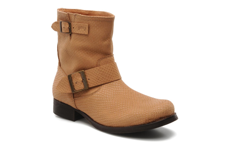 Bottines et boots Georgia Rose Boteni Beige vue détail/paire