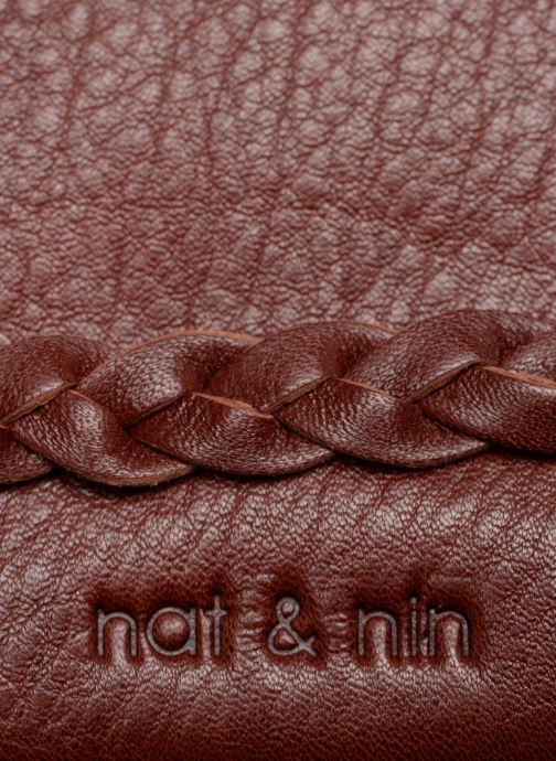 Petite Maroquinerie Nat & Nin Lili Bordeaux vue gauche