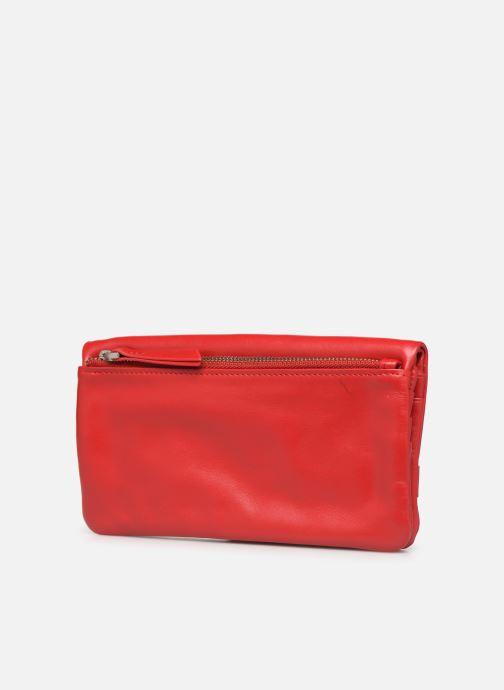 Portemonnaies & Clutches Nat & Nin Lili rot ansicht von rechts