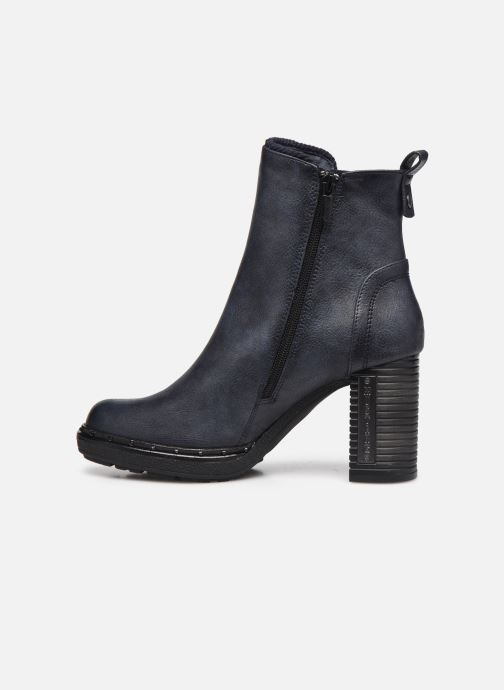 Boots en enkellaarsjes Mustang shoes Maela Blauw voorkant