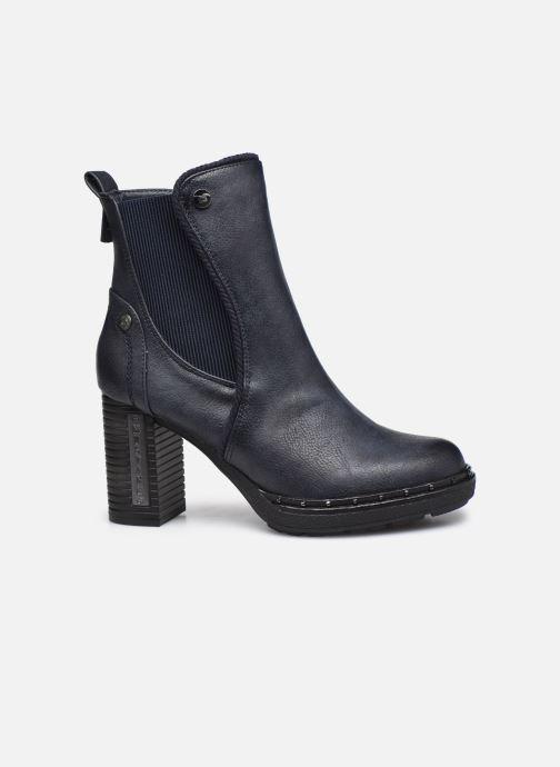 Boots en enkellaarsjes Mustang shoes Maela Blauw achterkant