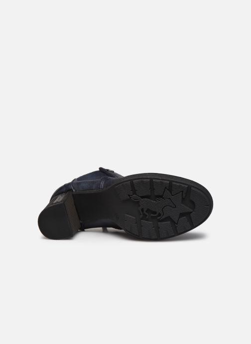 Boots en enkellaarsjes Mustang shoes Maela Blauw boven