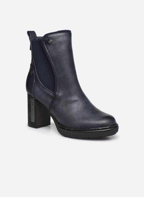 Boots en enkellaarsjes Mustang shoes Maela Blauw detail