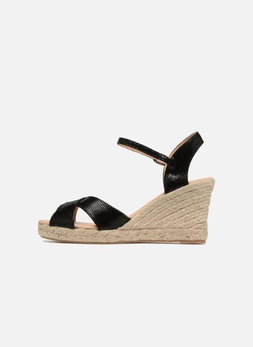 Zapatos de tacón Georgia Rose Divina Negro vista de frente