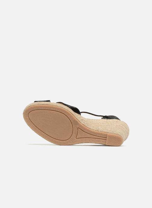 Zapatos de tacón Georgia Rose Divina Negro vista de arriba