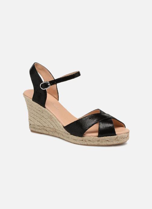 Zapatos de tacón Georgia Rose Divina Negro vista de detalle / par