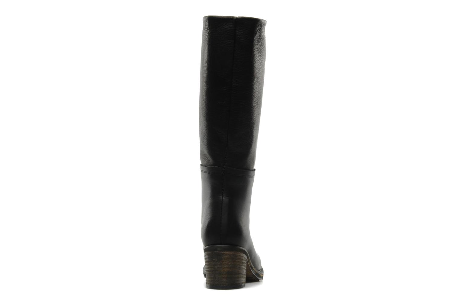 Boots & wellies Georgia Rose Vivan Black view from the right