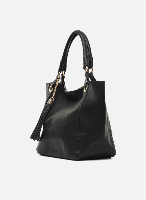 Handtaschen Georgia Rose Barnabé schwarz schuhe getragen