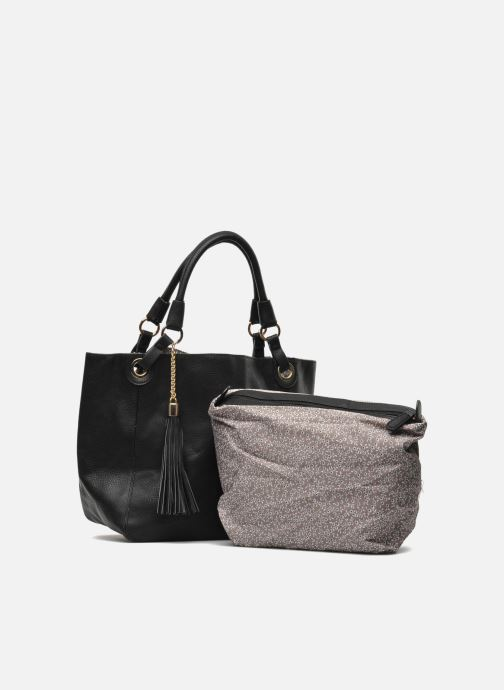 Handbags Georgia Rose Barnabé Black view from the left