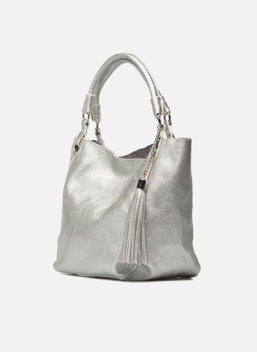 Handtaschen Georgia Rose Barnabé silber schuhe getragen