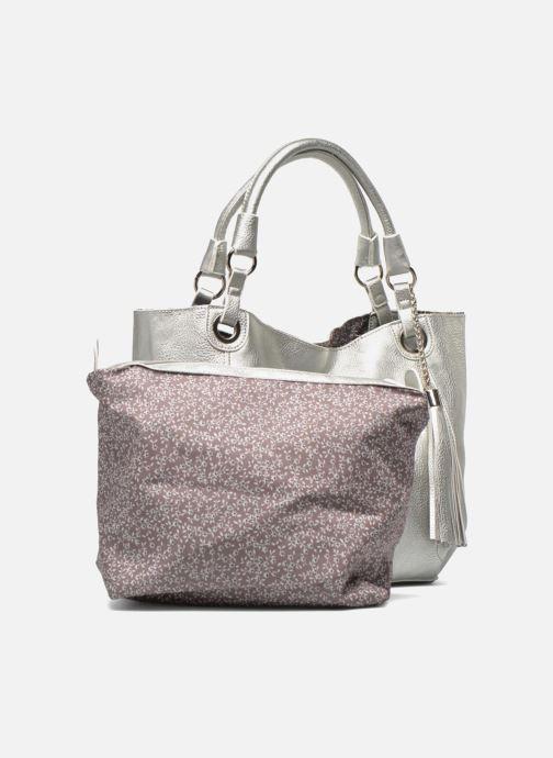 Handtaschen Georgia Rose Barnabé silber ansicht von links