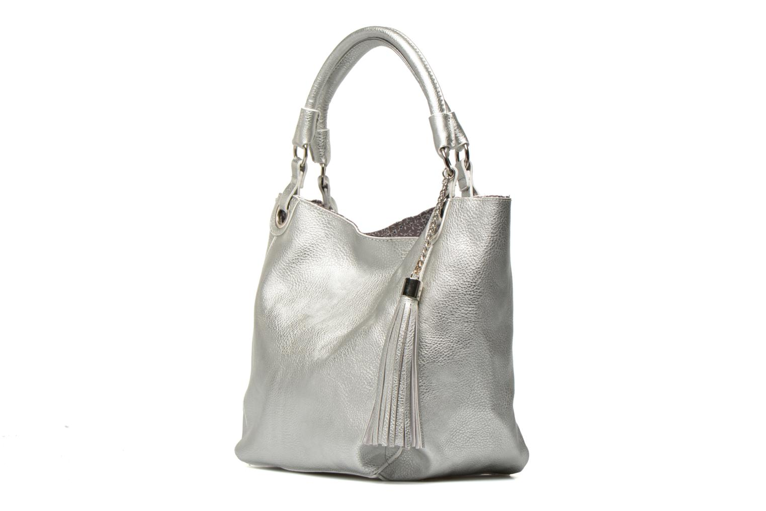 Handbags Georgia Rose Barnabé Silver model view
