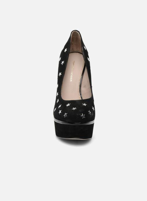 Escarpins KG By Kurt Geiger Esme star Noir vue portées chaussures