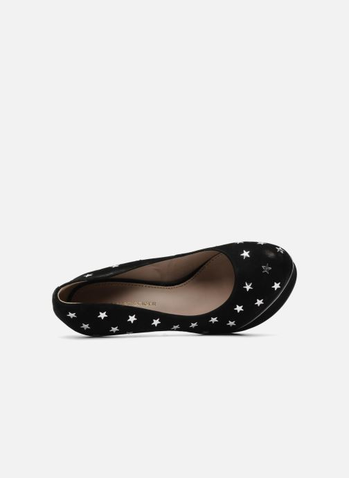 High heels KG By Kurt Geiger Esme star Black view from the left