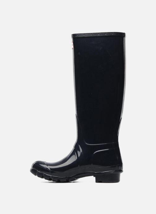 Boots & wellies Hunter Original Tall Gloss Blue front view