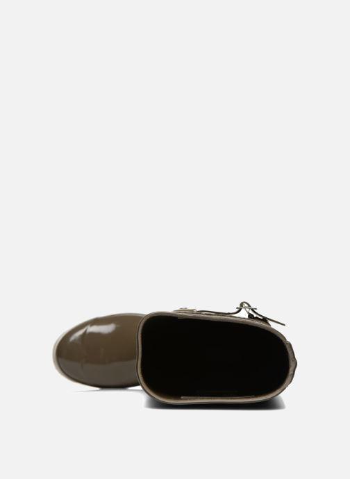 Støvler & gummistøvler Hunter Original Tall Gloss Grøn se fra venstre