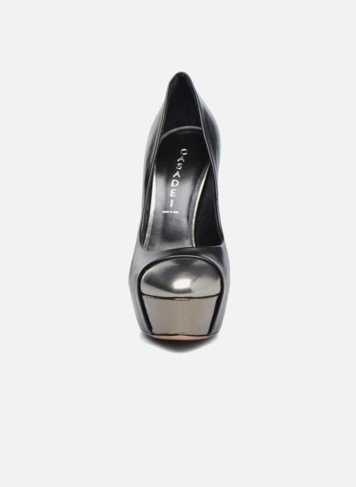 Escarpins Casadei Peplum Barbarella Noir vue portées chaussures
