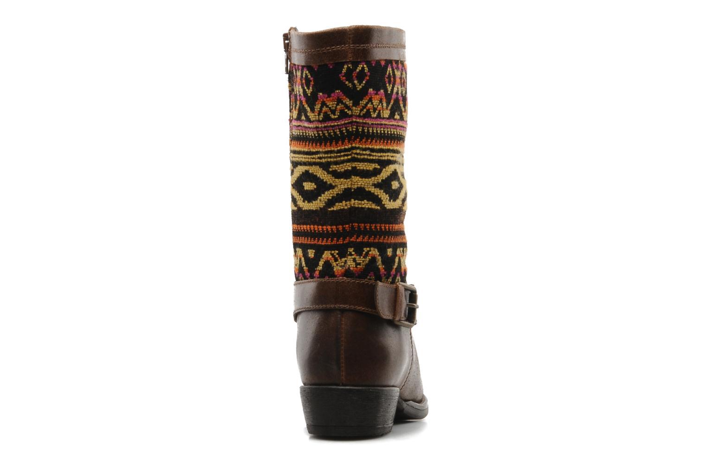 Bottines et boots Georgia Rose Gustine Marron vue droite
