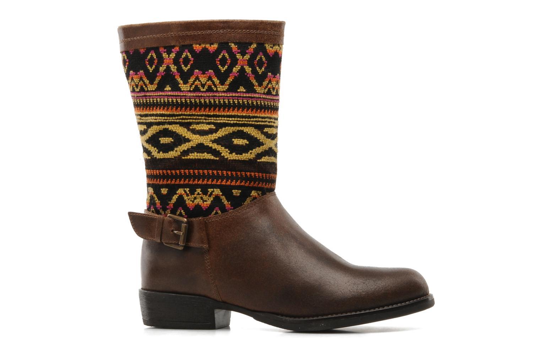 Bottines et boots Georgia Rose Gustine Marron vue derrière