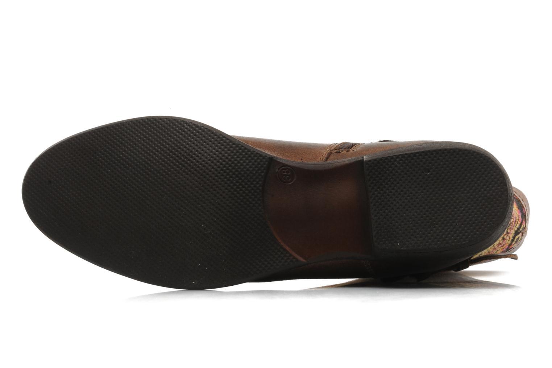 Bottines et boots Georgia Rose Gustine Marron vue haut