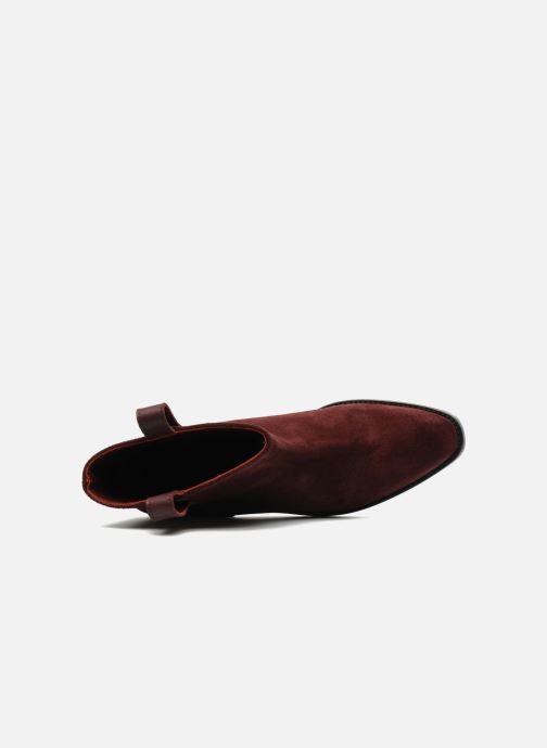 Botines  Surface To Air Kim Pull Tab Boots Vino vista lateral izquierda