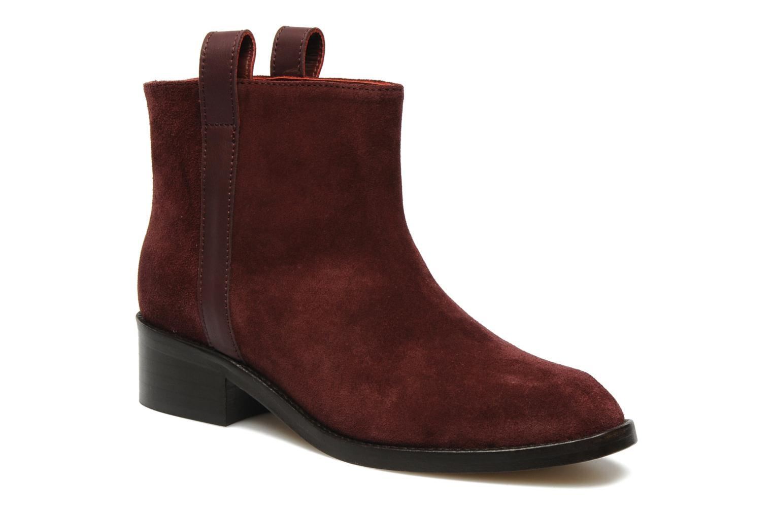 Bottines et boots Surface To Air Kim Pull Tab Boots Bordeaux vue détail/paire