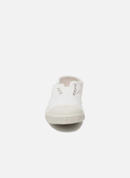 Sneaker Bensimon Tennis Elly weiß schuhe getragen