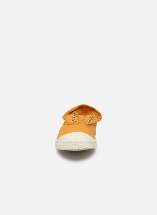 Baskets Bensimon Tennis Elly Jaune vue portées chaussures