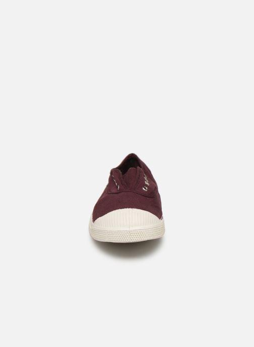 Baskets Bensimon Tennis Elly Bordeaux vue portées chaussures