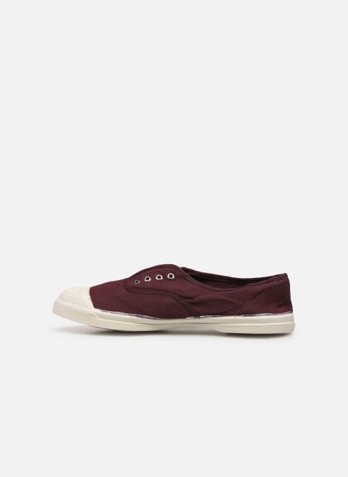 Trainers Bensimon Tennis Elly Burgundy front view