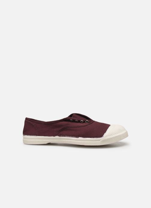 Trainers Bensimon Tennis Elly Burgundy back view