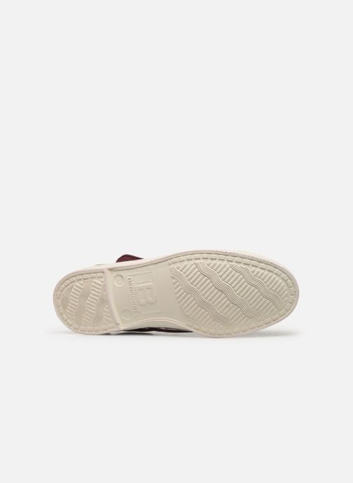 Trainers Bensimon Tennis Elly Burgundy view from above