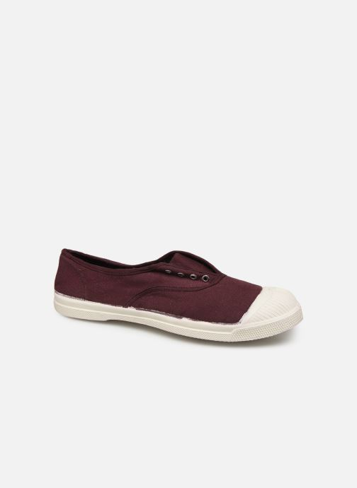 Trainers Bensimon Tennis Elly Burgundy detailed view/ Pair view