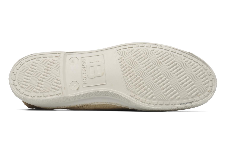Sneakers Bensimon Tennis Elly Beige boven