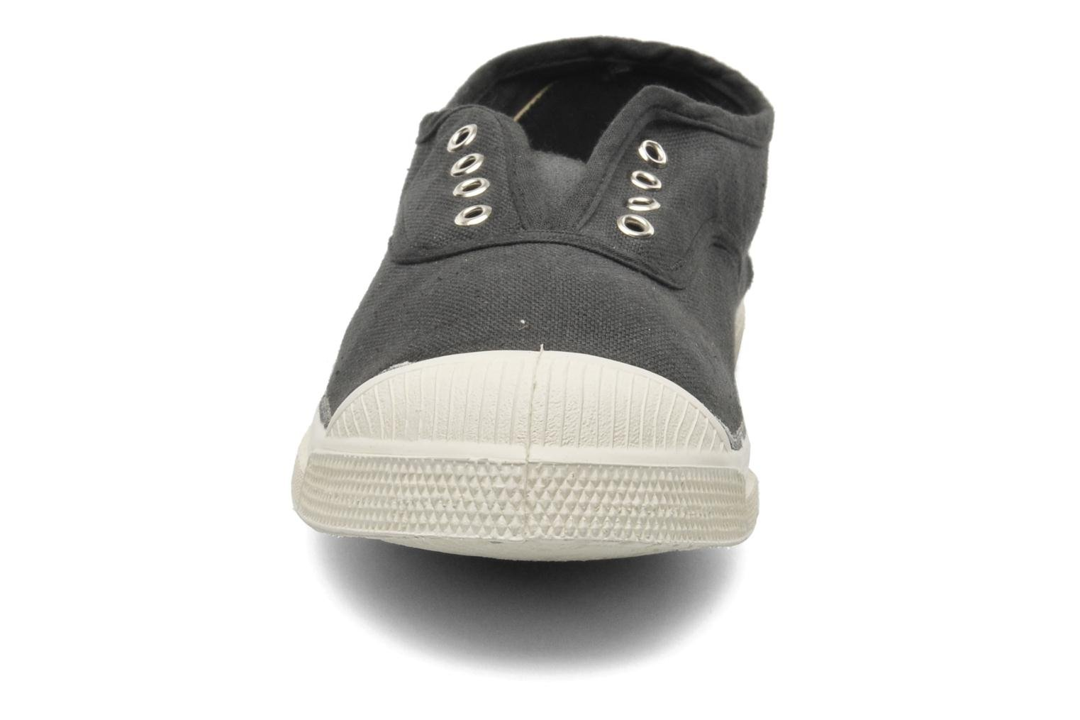 Trainers Bensimon Tennis Elly Black model view