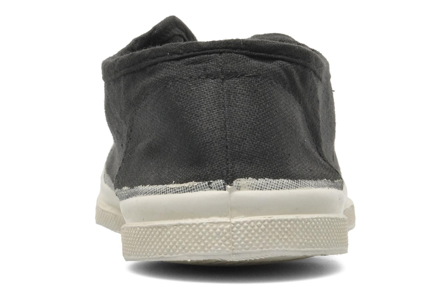 Trainers Bensimon Tennis Elly Black view from the right