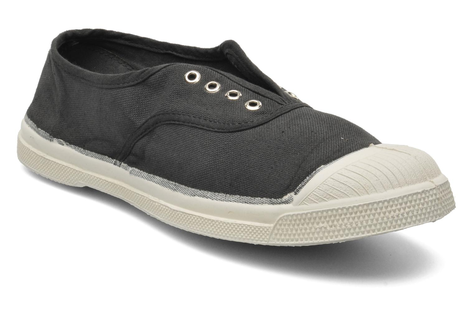 Trainers Bensimon Tennis Elly Black detailed view/ Pair view