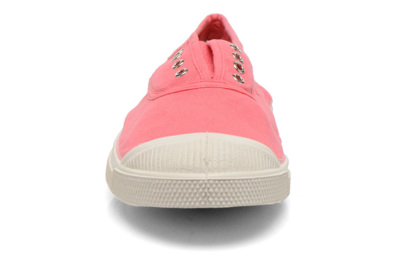 Baskets Bensimon Tennis Elly Rose vue portées chaussures