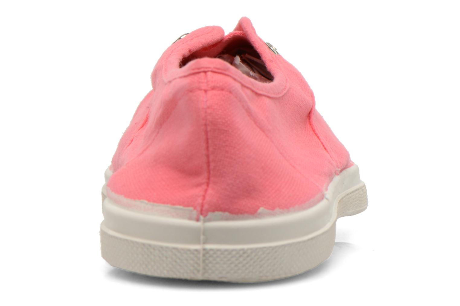 Trainers Bensimon Tennis Elly Pink view from the right