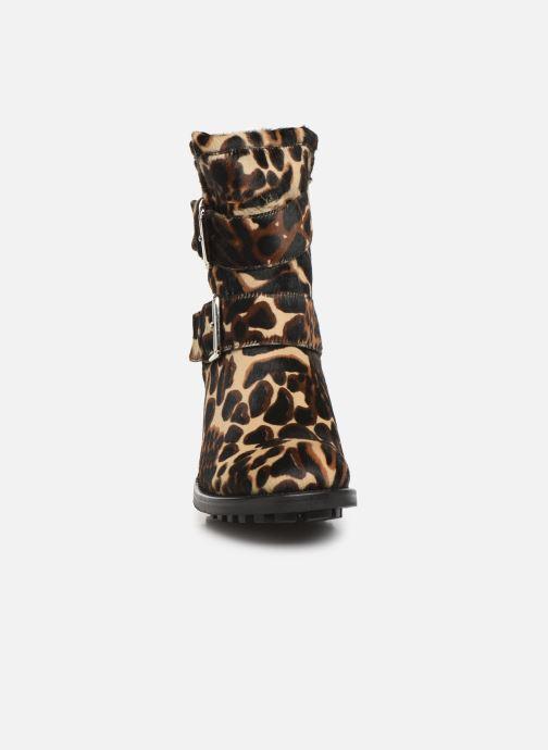 Bottines et boots Free Lance Biker 7 Mini Strap Multicolore vue portées chaussures
