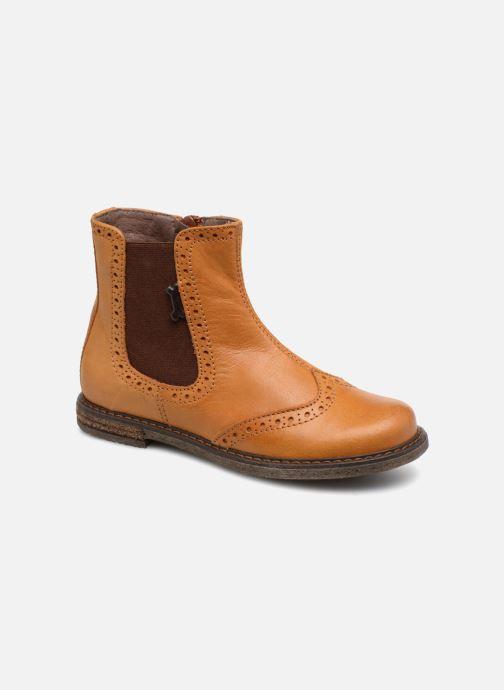 Bottines et boots Stones and Bones Evan Marron vue détail/paire