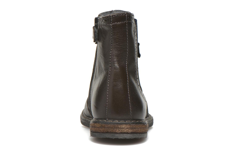 Bottines et boots Stones and Bones Evan Gris vue droite