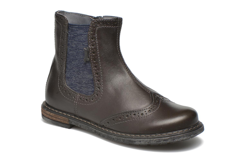 Bottines et boots Stones and Bones Evan Gris vue détail/paire