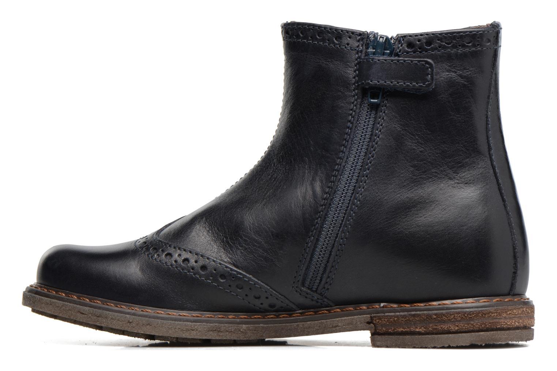 Bottines et boots Stones and Bones Evan Bleu vue face