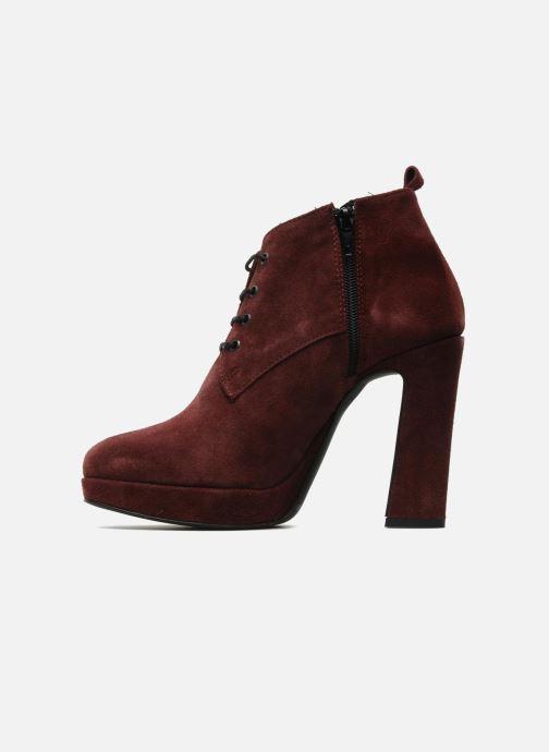 Bottines et boots Georgia Rose Nuts Bordeaux vue face