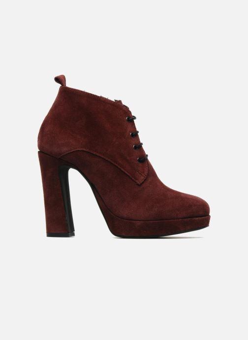 Bottines et boots Georgia Rose Nuts Bordeaux vue derrière