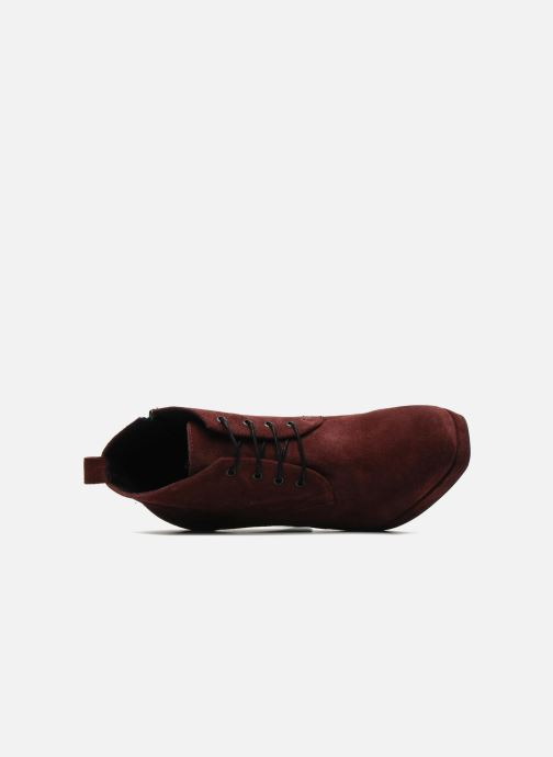Bottines et boots Georgia Rose Nuts Bordeaux vue gauche